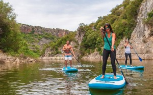 Stand Up Paddle on The Emerald river Sardinia