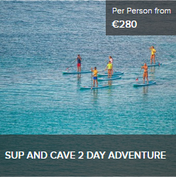 SUP and Cave tour Sardinia