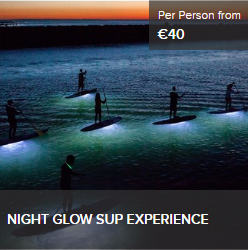 Night Glow Tour Sardinia SUP Experience