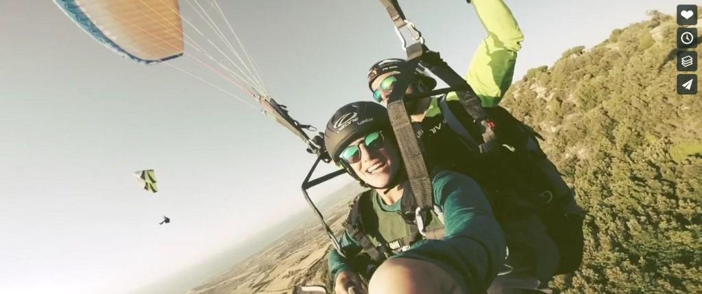 Tandem Paragliding in Sardinia with NüAdventure