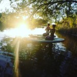 SupYoga - Standand Up Paddle Yoga - Bosa
