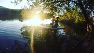SupYoga - Standand Up Paddle Yoga - Bosa