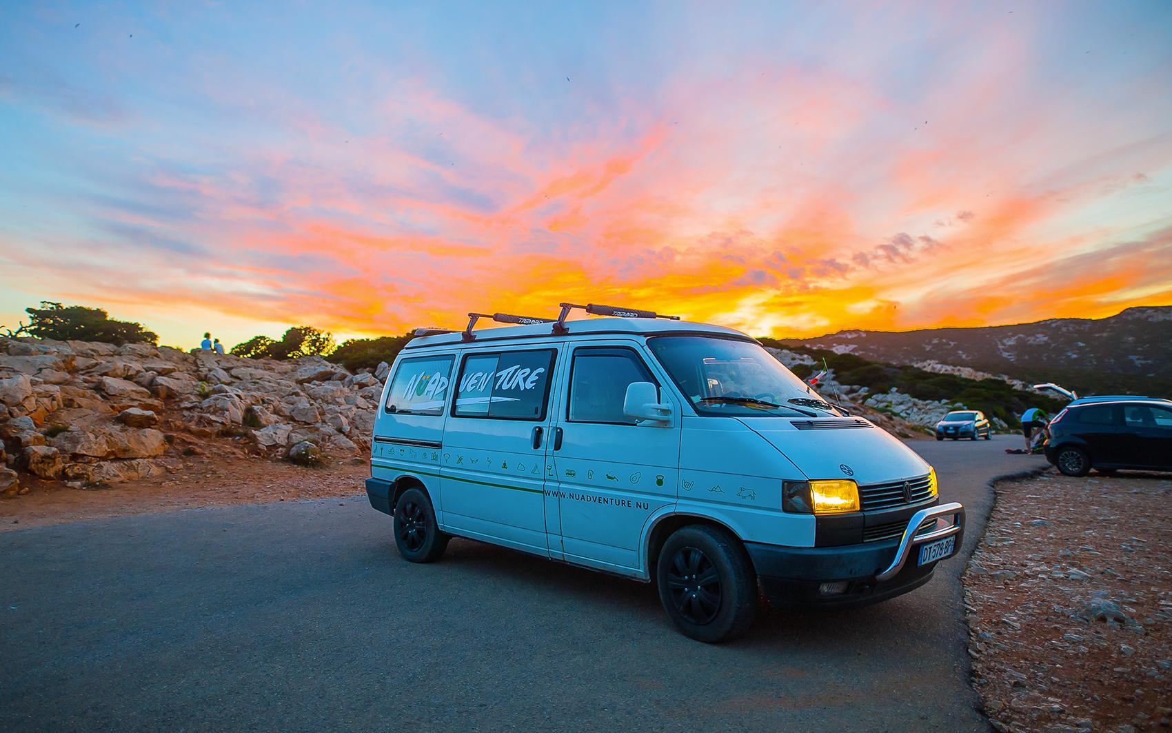 Rent Camper Van in Sardinia   Get our Super Camper Van and